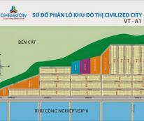 Bán đất chính chủ, ngay KCN Visip 2, TPM Bình Dương-0933988290