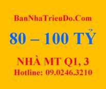 Bán nhà mặt tiền Trần Quang Khải, Quận 1. 90 tỷ_DS nhà tốt nhất: 80-100 tỷ