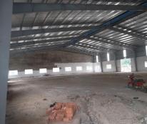 Cho thuê nhà xưởng 2500 m2 trong KCN Hải Sơn 1, Đức hòa, Long An