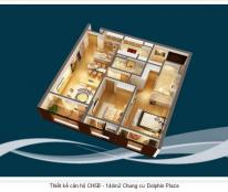 Bán căn hộ chung cư tại Dự án Dolphin Plaza, Nam Từ Liêm, Hà Nội giá 31 Triệu/m²
