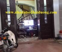 Cần bán nhà 3 tầng ngõ Bình Lộc, Hải Dương, Giá bán 1 tỷ 500 triệu