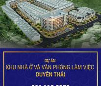 Chỉ với 1,7 tỷ sở hữu ngay nhà liền kề Duyên Thái tặng ngay cây vàng 9999, Hỗ trợ NH 70%,