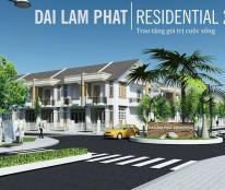 Mở bán nhà liền kề chỉ 460tr/căn KDC Residential 2 Đại Lâm Phát cách bến xe miền Tây 10km