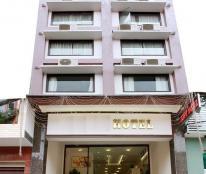 Bán khách sạn mặt tiền Bàu Cát, P. 14, Tân Bình 8X28m, 3 lầu