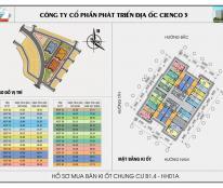 Kiot Kinh doanh tại Chung cư Thanh Hà-Mường Thanh,giá chênh thấp nhất thi trường ,L/h:0944694486