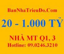 Bán nhà mặt tiền 369 Nguyễn Trãi, Quận 1. DT 9 x 27.7m. Giá 65 tỷ_DS Nhà MT Nguyễn Trãi, Q.1