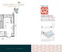 Bán cc G2 Vinhomes Green Bay, căn số 6, 3 phòng ngủ