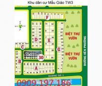 Bán nền nhà phố A 24 dự án Mẫu Giáo Trung Ương 3 quận 9 giá 22tr/m2