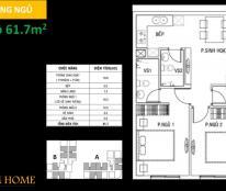 Bán căn hộ Dream Home, đã xong thô, nhận nhà T7/2017-
