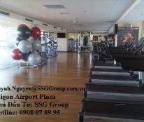 Cho thuê CH trống 3PN – 153 m2 Saigon Airport Plaza giá tốt – Hotline CĐT 0908 078 995