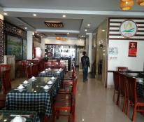 Cho thuê gấp biệt thự Trần Thái Tông, Thành Thái, dt 185m2, 5 tầng 1 hầm, MT 10m, giá 120t