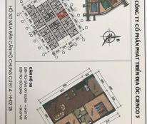 Chỉ 134 triệu có ngay căn hộ 2 phòng ngủ chung cư Thanh Hà Cienco 5.