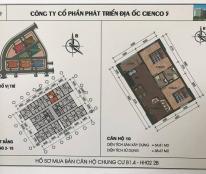 Bán căn hộ 65m2 chung cư Thanh Hà Cienco 5 giá gốc chỉ 10,5 triệu/m2.