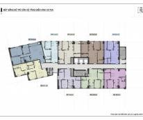 Bán căn sổ đỏ 70m2, tòa A OCT5 Resco Cổ Nhuế, 2PN, 2WC, nhận nhà ngay, LH 0964814641