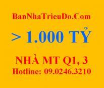 Bán nhà 2 mặt tiền 23 Lê Duẩn, Nguyễn Du, Quận 1: 3330 m2. 2500 tỷ_DS nhà hơn 1000 tỷ