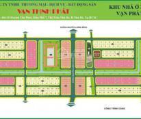 Bán gấp nền nhà phố Vạn Phát Hưng, đường 20m, giá tốt nhất thị trường. LH 0937552565 Chi tiết dự án