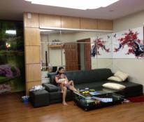 Cho thuê căn hộ chung cư 57 Láng Hạ. 197m2. 4 phòng ngủ đủ đồ đẹp. 20 triệu/tháng.