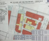 Cần bán liền kề 100m2 khu B1.3 Thanh Hà Cienco 5.