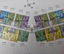 Cần bán căn hộ chung cư 87 Lĩnh Nam. Tầng 1617 tòa NO3, DT 73.97m2, giá bán 23.5tr/m2, 0934568193