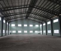 Kho xưởng 4600m2 cần cho thuê tại KCN Quế Võ 1, Bắc Ninh mới xây