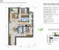 Bán căn hộ chung cư Ecolife Tây Hồ, căn chính chủ. Giá 29 triệu/m2