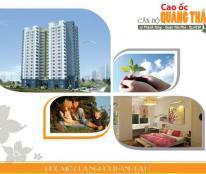 Cho thuê căn hộ chung cư Quang Thái, Q. Tân Phú, nhà đẹp thoáng mát, dt 63m2, 2pn