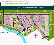 Bán lô đất ngang 8m,  Địa Ốc 3, dự án phát triển nhà Quận 3, Phú Hữu, Q9, LH: 0914.920.202