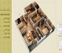 Chính chủ cần bán căn 15v3 chung cư Home City, dt 89.77m2, 3p/ngủ, liên hệ: 0962859938