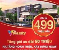 Bán đất nền dự án tại Dự án The Viva City, Trảng Bom, Đồng Nai diện tích 100m2 giá 450 Triệu