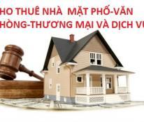 Cho thuê nhà phố quận Cầu Giấy,mặt tiền 12m,ưu tiên nhà hàng,ngân hàng.LH 0986284034