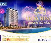 Hòa Bình Green Đà Nẵng - Căn hộ dát vàng 24k, lợi nhuận cam kết lên đến 12%