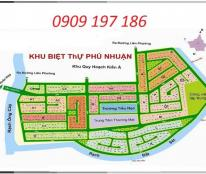 Bán đất nền dự án Phú Nhuận - Liên phường Phước Long B, quận 9
