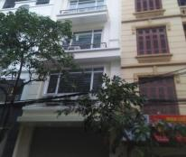 Cho thuê nhà 6 tầng mặt phố Giáp Bát, 107m2, MT 5m, 40 triệu/tháng.