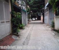 DT 50m2,MT 4.2m đất ngõ 193 Phú Diễn ô tô vào nhà thông thoáng