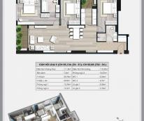 Bán căn hộ 3 ngủ 111.8m2/3PN/2WC  Ecolife Capitol  căn số 4 tòa, giá 25.7 tr/m2, Lh 098.111.5218