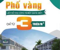 Bán đất nền tại Dự án Beryl Residences, Trảng Bom, Đồng Nai diện tích 100-114m2 giá 3,1Tr/m2