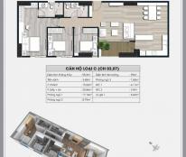 Giá 26 tr/m2  CC cần  bán căn góc  3 ngủ  dt 95.3m2 căn 5 tòa A2 CC Ecolife Capitol, Lh 0989.218.798