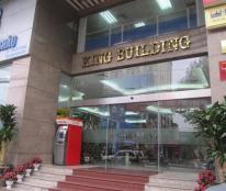 Cho thuê văn phòng King Building số 7 Chùa Bộc từ 70m2-250m2. LH: 0964712026.