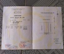 Bán nhà 27 ngõ 13 đường Xuân Diệu, Nguyễn Du, TP Hà Tĩnh. DT: 5.5x19.5=107.25 m2, Bắc- Giá 1.7 tỷ