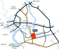 Cần bán lô 2 mặt tiền 114 m2 trong khu đô thị cao cấp Đông sài gòn - LH 0905970292