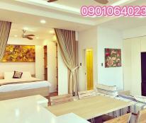 Cho thuê căn hộ  nghỉ dưỡng Mường Thanh Nha Trang số 60 Trần Phú  . LH Trâm 0901064023