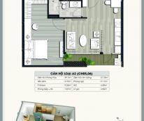 Cần nhượng gấp căn hộ EcoLife Capitol 49.1m2/1PN/1WC , giá 27tr/m2, LH 098.111.5218