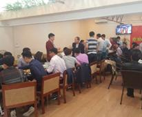 Cần nhượng gấp tiệm Cafe-Cơm Văn Phòng, số 1 ngõ 84 Trần Thái Tông, Cầu Giấy, giá nhượng 95 triệu