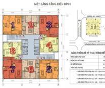 Cần bán căn góc 803 N02T1 Taseco Ngoại Giao Đoàn, Xuân Đỉnh,Bắc Từ Liêm, DT 124m2, Hướng Đông Nam