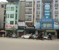 Bán nhà mặt phố Trần Quốc Hoàn, 3 mặt ô tô tránh, 72,3m, giá 24 tỷ.
