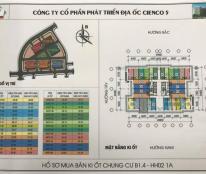 Cần bán ki ốt HH02 Thanh Hà Cienco 5 giá chỉ 22triệu/m2.