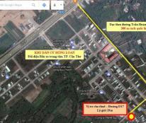 Đất cho thuê dài hạn - Khu dân cư Hồng Loan - Đối diện bến xe TP. Cần Thơ