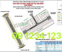 Mở bán giai đoạn 3, KDC Tân Bình, ngay ngã 4 Chiêu Liêu, giá gốc CĐT. Lh 09 1234 1236