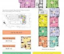Bán căn hộ số 12 tòa CT1B nghĩa đô, sổ đỏ chính chủ