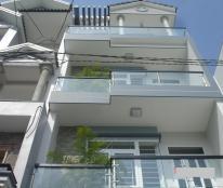 Cho thuê nhà 1 trệt 3 lầu, 4m*12.5m, 9tr/tháng, đường QL13